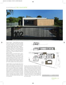 architektura |RD SVATBÍN