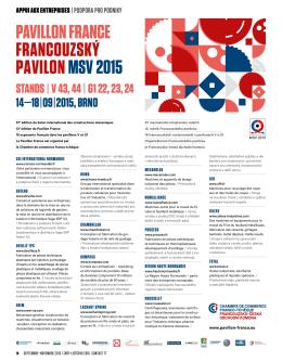 pavillon france francouzský pavilonmsv 2015