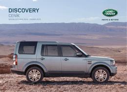 Ceník - Land Rover
