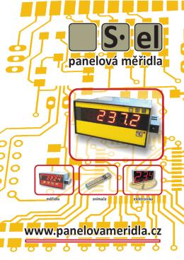 S el panelová měřidla www.panelovameridla.cz
