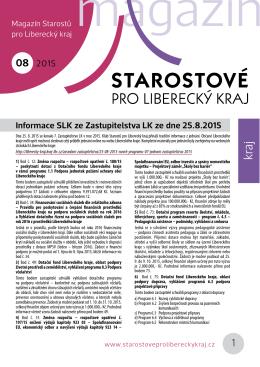 PDF srpnového magazínu SLK