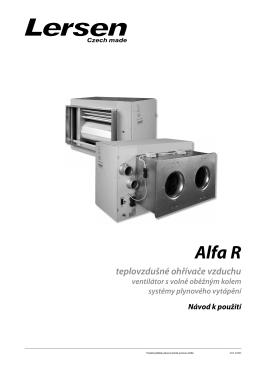Alfa R - Lersen