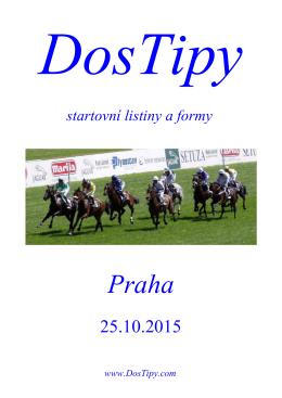 Formy Velká Chuchle 25.10.2015