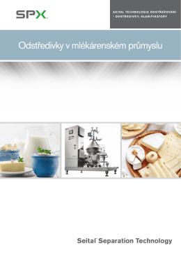 Odstředivky v mlékárenském průmyslu
