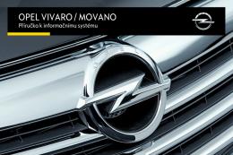 Opel Movano Návod