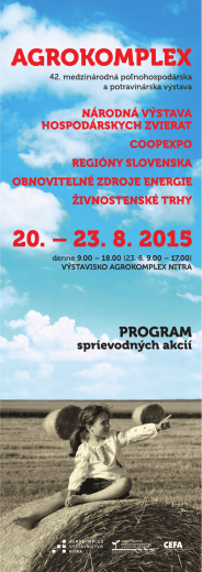 Sprievodný program Agrokomplex 2015
