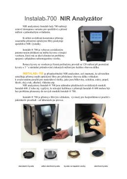 Instalab®700 - NIR Analyzátor