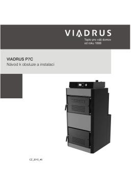 VIADRUS P7C Návod k obsluze a instalaci
