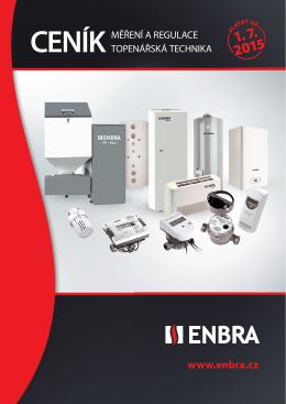 Kompletní ceník ENBRA (platný od 1. 7. 2015)
