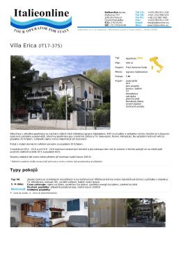 Villa Erica - Italieonline