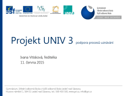 Projekt UNIV 3