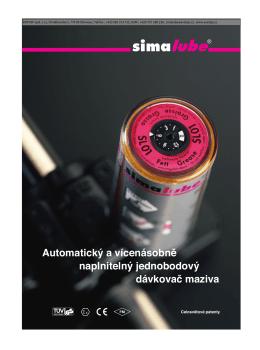 katalog Simalube ke stažení (cz) pdf