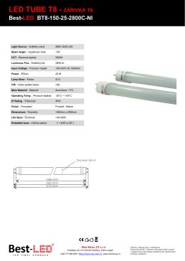 LED TUBE T8 - ZÁŘIVKA T8