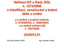 Nařízení REACH_GHS