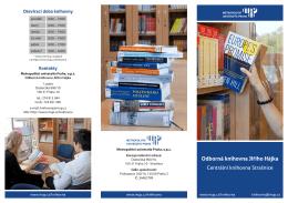 Poprvé v knihovně – základní informace