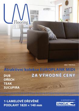 atraktivní kolekce europlank midi za výhodné ceny
