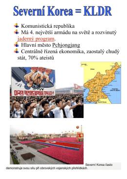 KLDR, Jižní Korea, Mongolsko