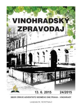 13.06.2015 - Stránky sboru CASD Praha