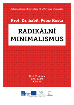 Prof. Dr. habil. Peter Kosta