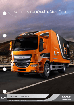 DAF LF Quick Reference Guide
