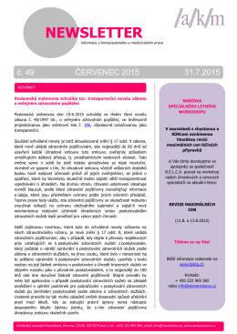 více v pdf - Advokátní kancelář Marečková