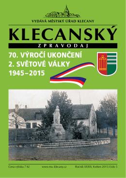 5/2015 - Město Klecany