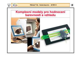Michal Vik : Kolorimetrie – KME11