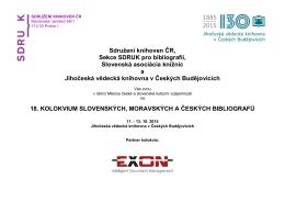 Sdružení knihoven ČR, Sekce SDRUK pro bibliografii, Slovenská