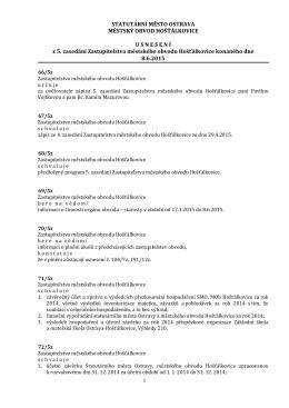 usnesení 5-2015