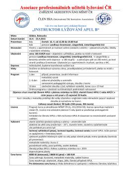 propozice ski B Solden 4-2015