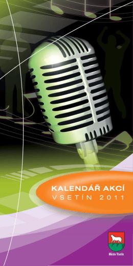 Kalendář kulturních a sportovních akcí ve Vsetíně a blízkém okolí