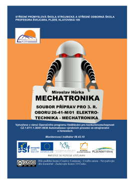 MECHATRONIKA - Střední průmyslová škola strojnická a Střední
