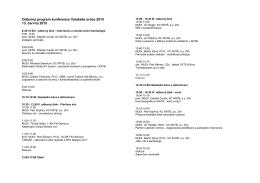 Program na Valašské srdce 2015