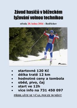 Mistrovství ČR v běžeckém lyžování