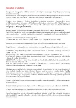 instrukce FE 2015.indd - Moravské zemské muzeum