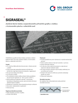 SIGRASEAL® - SGL Group