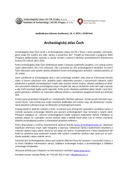 Archeologický atlas Čech - Archeologický ústav AV ČR