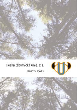 Stanovy ČTU - Česká tábornická unie Jižní Morava