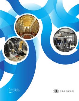 Pololetní zpráva Mid-year Report 2015