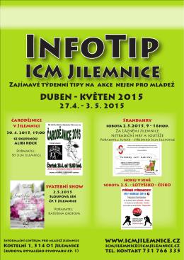 InfoTip 27. 4. - 3. 5. 2015