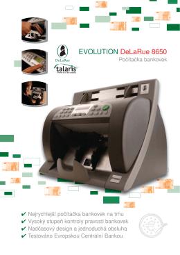 Počítačka bankovek Talaris EV 8650