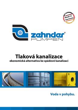 Tlaková kanalizace - Zehnder Pumpen GmbH