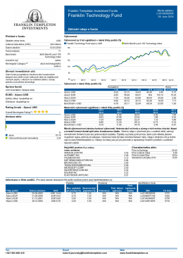 A(acc) USD - Franklin Templeton