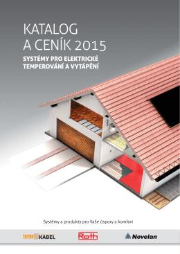 KATALOG A CENÍK 2015 - Tepelná čerpadla a podlahové topení