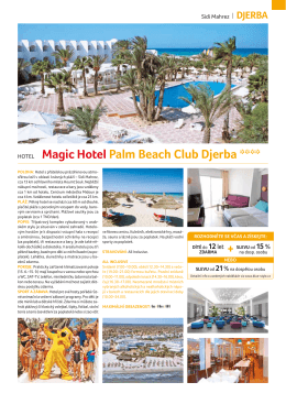Magic Hotel Palm Beach Club Djerba ****