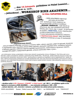 WORKSHOP BIKE AKADEMIE