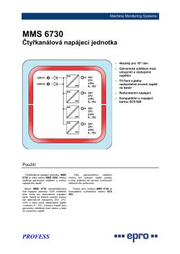 MMS 6730 - PROFESS, spol. s ro