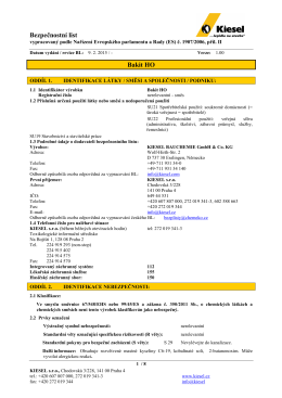 Bakit HO - BL Reach 2010 - Kiesel Bauchemie GmbH & Co.KG