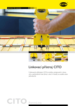 Linkovací přístroj CITO - CITO