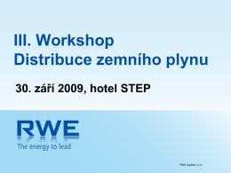 Distribuční společnosti RWE